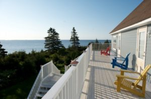 Sea Winds Landing country inn at Charlos Cove on Nova Scotia's eastern shore