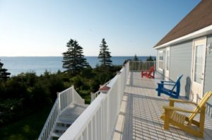Seawind Landing Country Inn: End of The Deck on Land's End
