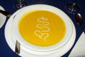SeaWind Landing's Butternut Squash Soup
