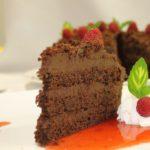 Seawind Landing Country Inn - dining chocolate cake slice