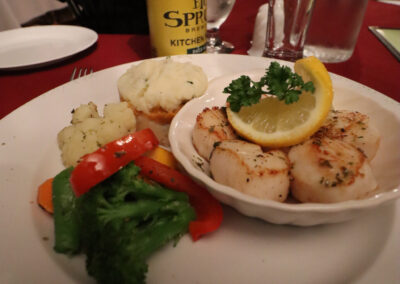 Dining at Seawind Landing