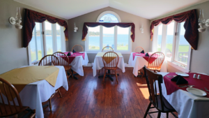 Dining Interior at Seawind Landing Country Inn